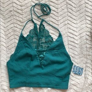 Free People Summer Jungle Top, NWT